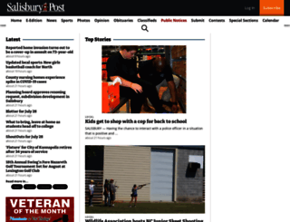 salisburypost.com screenshot