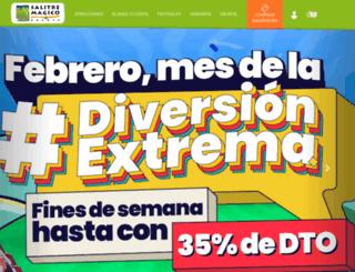 salitremagico.com.co screenshot