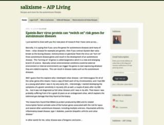 salixisme.wordpress.com screenshot