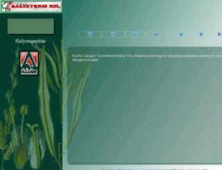 salixterm.hu screenshot
