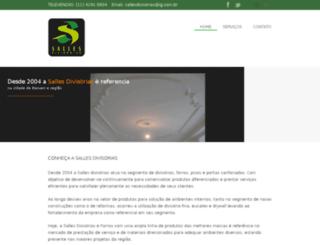 sallesdivisorias.com.br screenshot