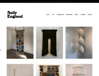 sallyengland.com screenshot