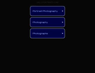 sallyportraits.com screenshot