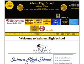 salmenhigh.stpsb.org screenshot