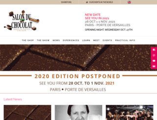 salonduchocolat.fr screenshot
