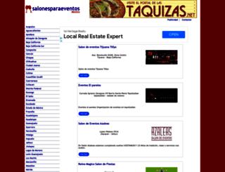 salonesparaeventos.com.mx screenshot