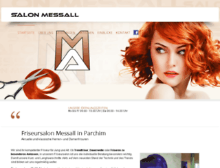 salonmessall.de screenshot