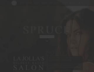 salonspruce.com screenshot