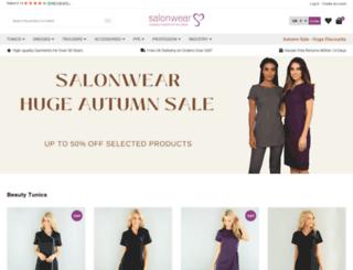 salonweardirect.co.uk screenshot