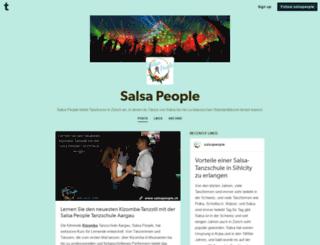 salsapeople.tumblr.com screenshot