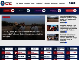 salta.gob.ar screenshot