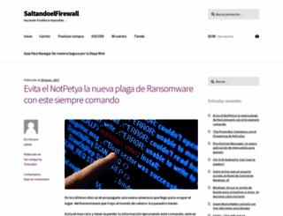 saltandoelfirewall.com.mx screenshot