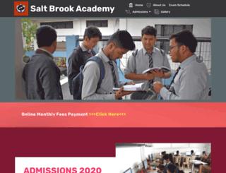 saltbrookacademy.com screenshot