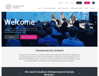 saltirefoundation.com screenshot