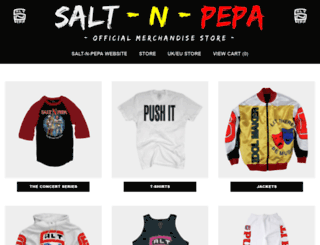 saltnpepa.merchdirect.com screenshot