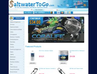 saltwatertogo.com screenshot