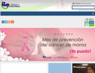salud.gob.do screenshot