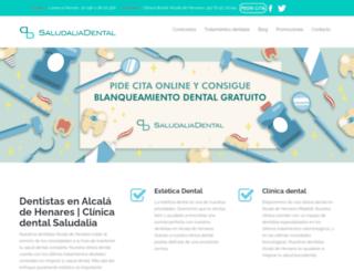 saludaliadental.com screenshot