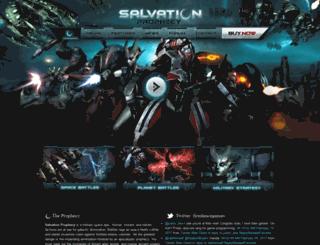 salvationprophecy.com screenshot