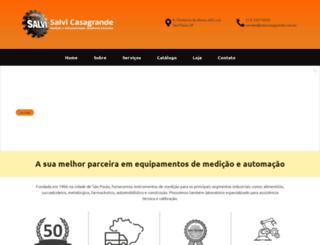salvicasagrande.com.br screenshot