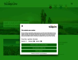 salzburgerland.com screenshot