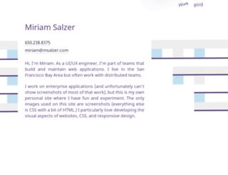 salzerdesign.com screenshot
