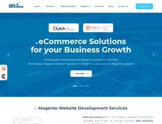 sam-ecommerce.com screenshot