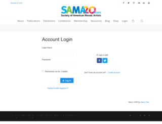 sama.z2systems.com screenshot
