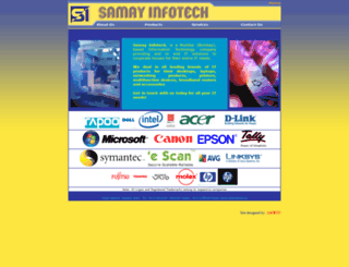 samayinfotech.in screenshot