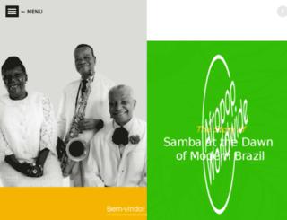 samba.afropop.org screenshot