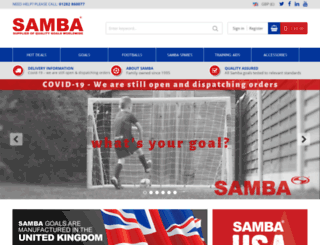 sambasports.co.uk screenshot
