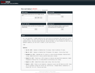 samdns.com screenshot