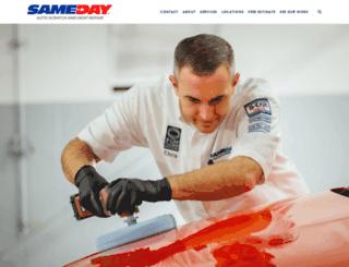 sameday-usa.com screenshot