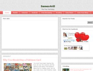 samex4rill.com screenshot