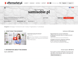 samisobie.pl screenshot