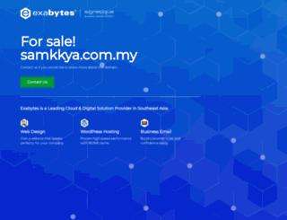 samkkya.com.my screenshot