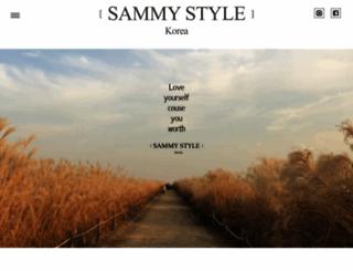 sammystyle.com.tw screenshot