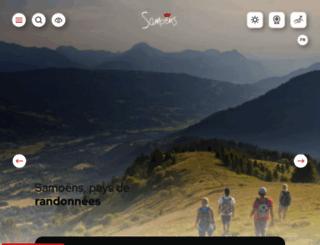 samoens.com screenshot