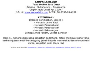sampailaku.com screenshot