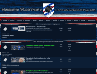 sampdoria.forumfree.net screenshot