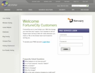 sample.myblogsite.com screenshot