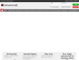 samplepapers.extraminds.com screenshot