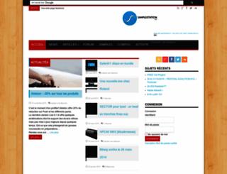 samplestation.net screenshot