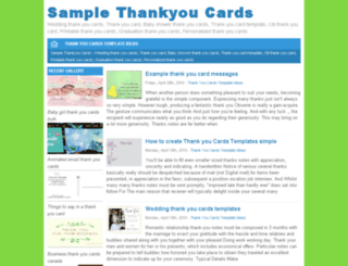 samplethankyoucards.xyz screenshot