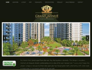 samridhigrandavenue.com screenshot