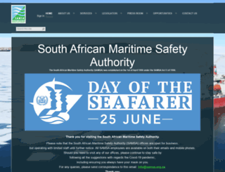 samsa.org.za screenshot