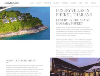 samsaraphuket.com screenshot