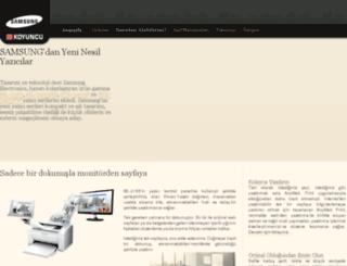 samsung-printers.com screenshot