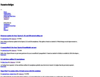 samtechtips.blogspot.in screenshot