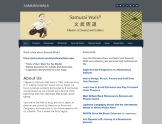 samurai-walk.com screenshot